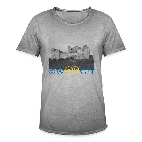 SWEDEN #1 - Männer Vintage T-Shirt