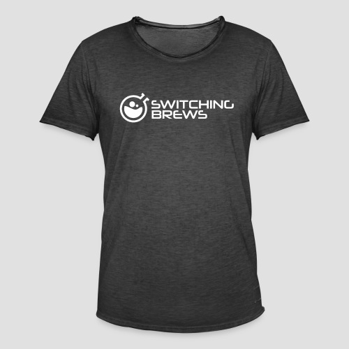 Switching Brews white - Men's Vintage T-Shirt