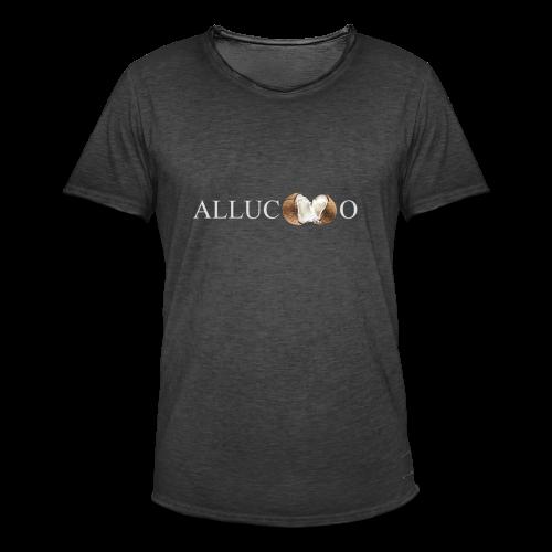 allucoco negro - Camiseta vintage hombre