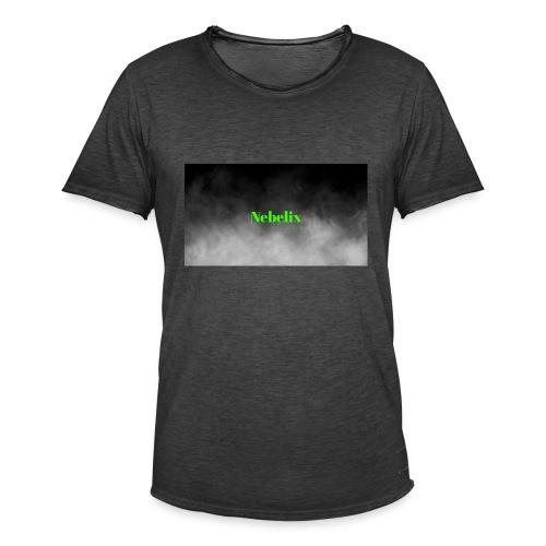 Nebelix - Männer Vintage T-Shirt