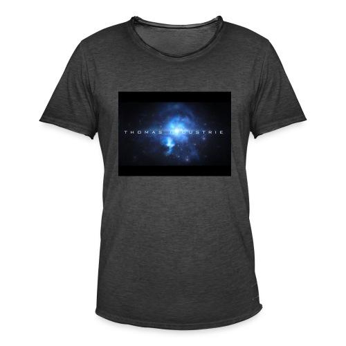 Thomas industrie - Mannen Vintage T-shirt