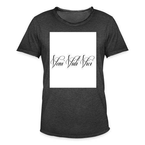 veni vidi vici - Men's Vintage T-Shirt