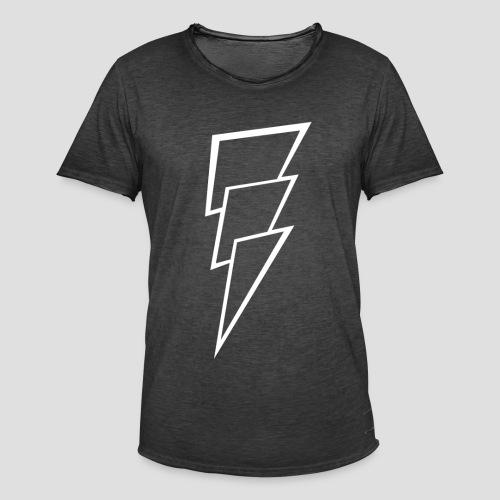 Thunder white - Mannen Vintage T-shirt