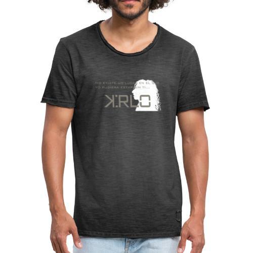 Camisetas Kirlo Sin Ti - Camiseta vintage hombre