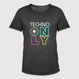 TECHNOPARTY - Men's Vintage T-Shirt