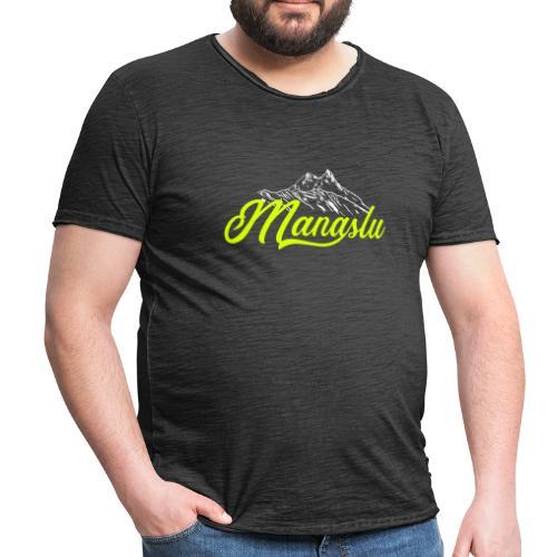 MANASLU script - Maglietta vintage da uomo