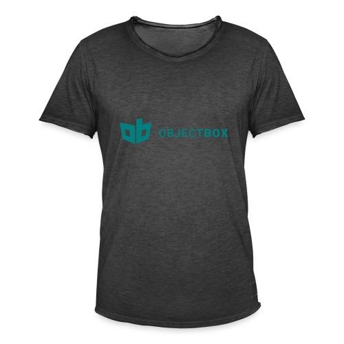 ObjectBox Green - Männer Vintage T-Shirt