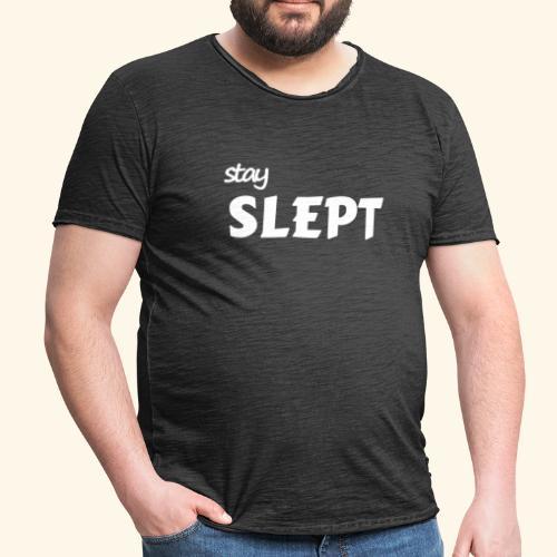 Reste couché - T-shirt vintage Homme