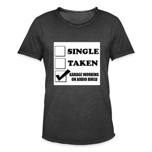 BassShirt - Miesten vintage t-paita