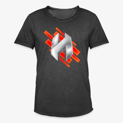 Abstract Red - Men's Vintage T-Shirt