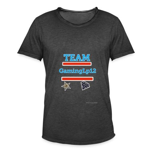 Team GamingLp12 Shirt - Männer Vintage T-Shirt