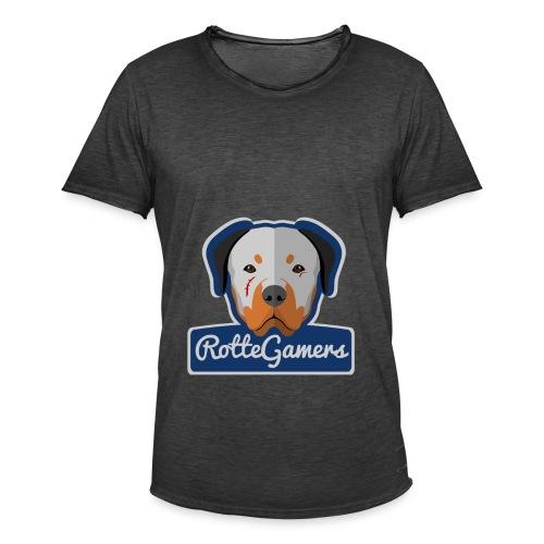 Original RotteGamers Hoodie Logo - Mannen Vintage T-shirt