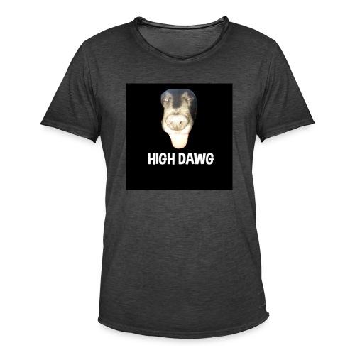 HIGH DAWG - T-Shirt - Vintage-T-skjorte for menn