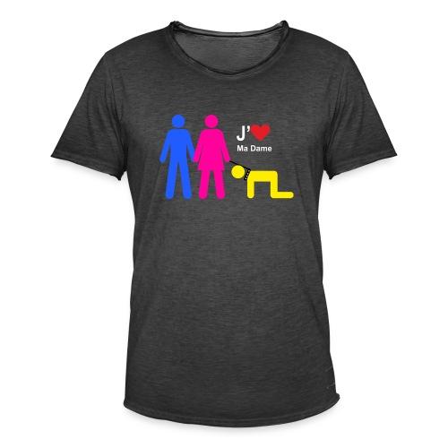 j aime ma dame - T-shirt vintage Homme