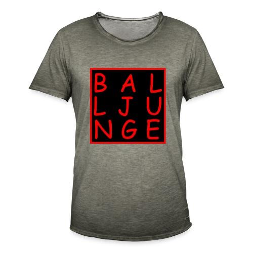 Balljunge - Männer Vintage T-Shirt