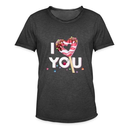 Koszulka miłość 10 - Koszulka męska vintage