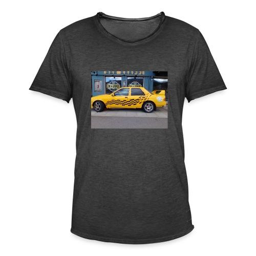 Napapiirin sankarit auto - Miesten vintage t-paita
