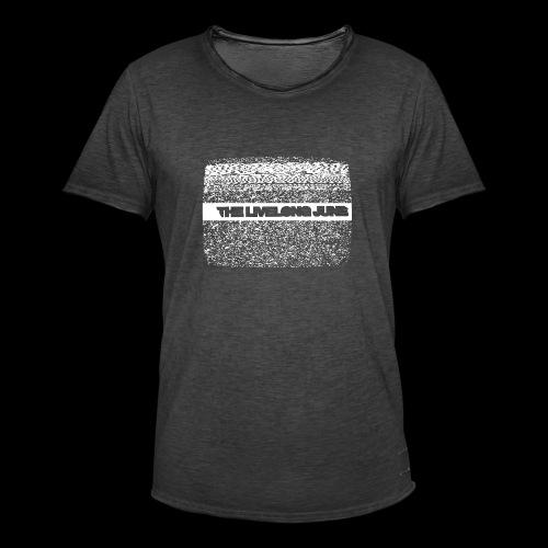 The Livelong June - Logo on white noise - Vintage-T-shirt herr