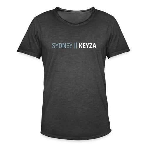 SYDNEY 2 - Männer Vintage T-Shirt