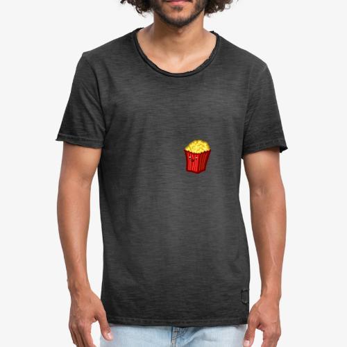 Popcorn Derp 2 - Männer Vintage T-Shirt