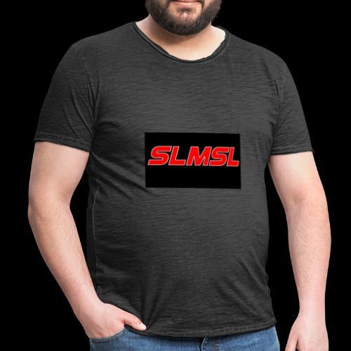 SLMSL - Männer Vintage T-Shirt