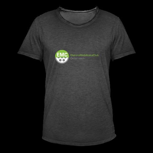 EMC Logo Hochauflösend - Männer Vintage T-Shirt
