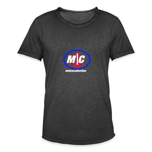 Misko Collection - Männer Vintage T-Shirt