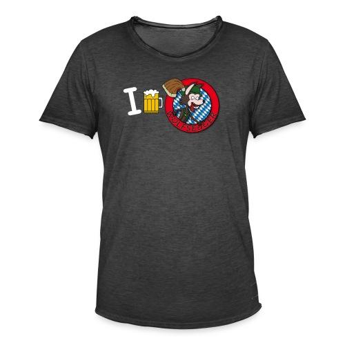 BierDesign - Männer Vintage T-Shirt