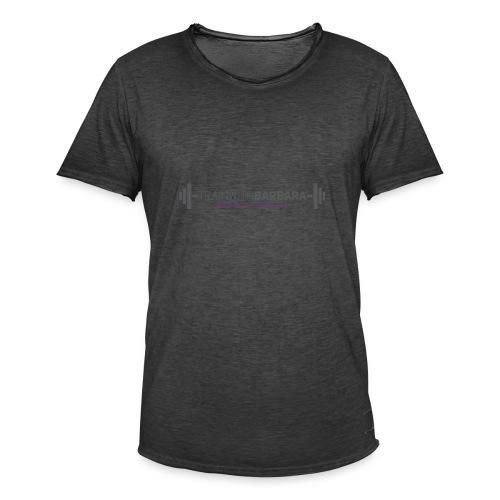 TRAINWITHBARBARA - Mannen Vintage T-shirt