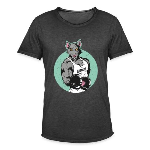GYMRAT - Männer Vintage T-Shirt