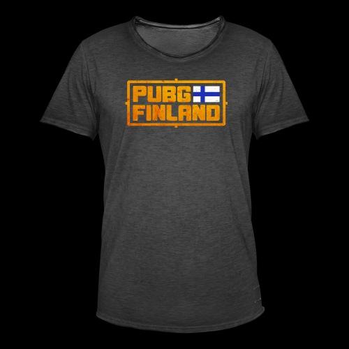 PUBG Finland - Miesten vintage t-paita