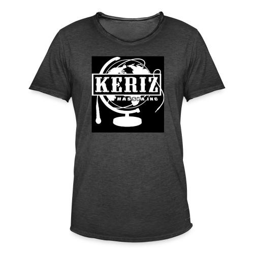 Logo Keriz - Männer Vintage T-Shirt