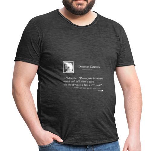 1,06 Dante Vuolsi Cosi Bianco - Maglietta vintage da uomo
