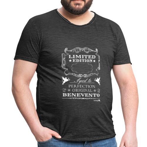 1.01 Invecchiato per Perf. BN B (Inserisci anno al centro) - Maglietta vintage da uomo