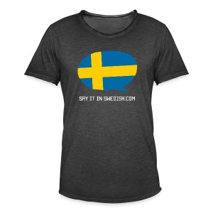 Say It In Swedish - Men's Vintage T-Shirt