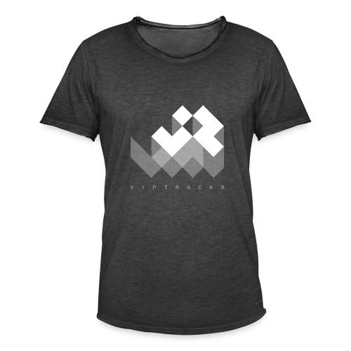 LOGO VIPTRACKS RELEASES - Mannen Vintage T-shirt
