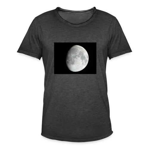 The moon - Men's Vintage T-Shirt