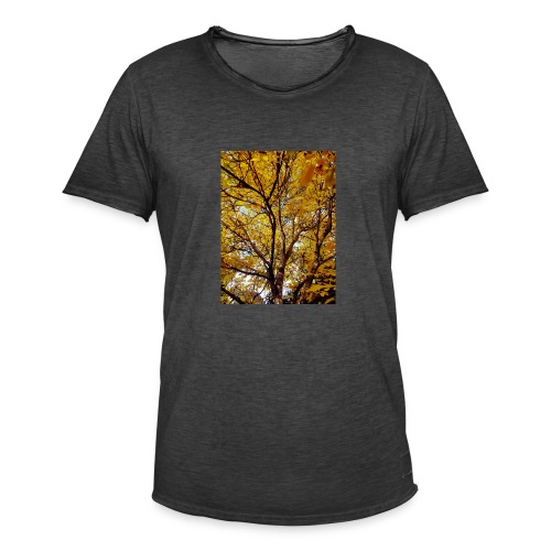 Deepleafs - Männer Vintage T-Shirt