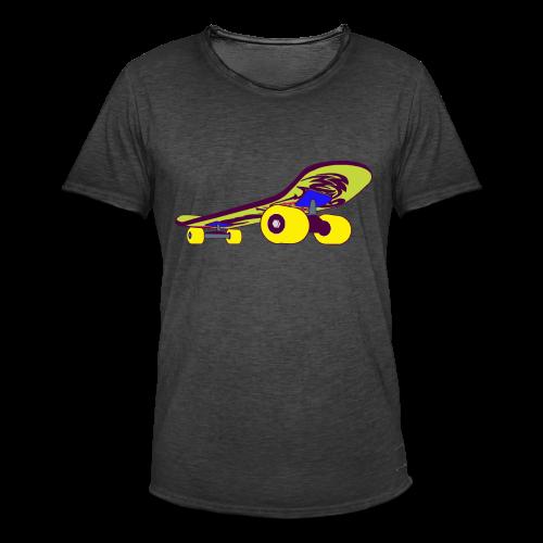 Skateboard Collection - Vintage-T-skjorte for menn