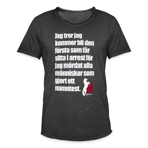 HorseBook line - Vintage-T-shirt herr