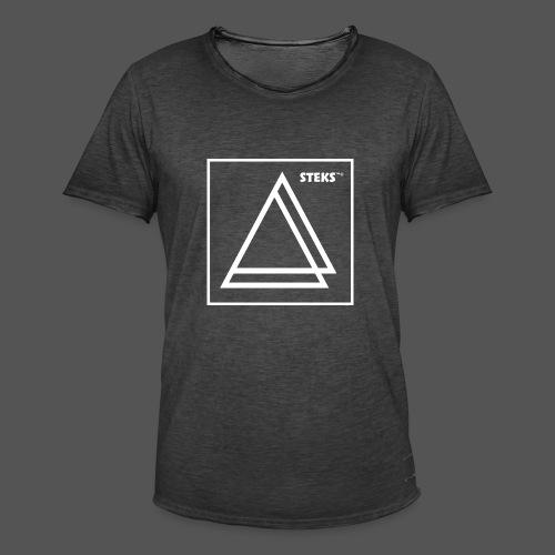 STEKS™ - Mannen Vintage T-shirt