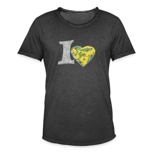 I LOVE MONEY - Männer Vintage T-Shirt