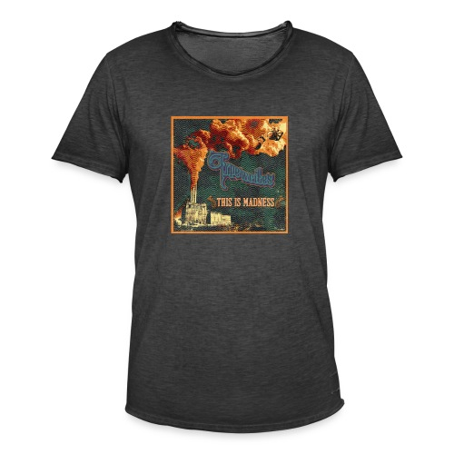 This Is Madness Album Cover - Vintage-T-shirt herr