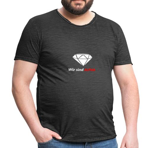 Wir sind Alpha - Männer Vintage T-Shirt