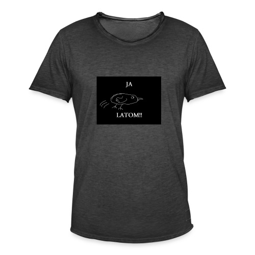 Ja Latom! - Koszulka męska vintage