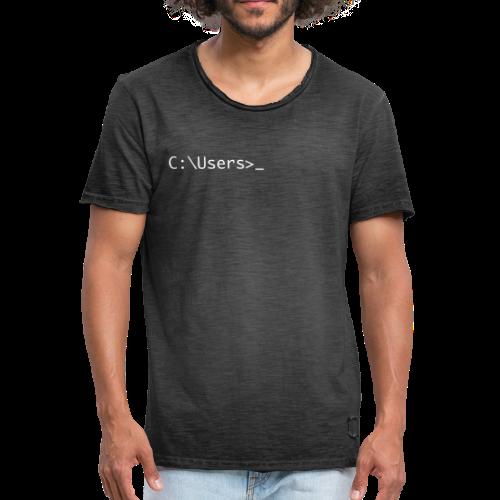 terminal - T-shirt vintage Homme
