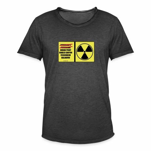 nucleaire - T-shirt vintage Homme