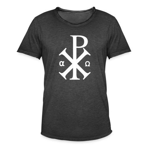 Alpha et Oméga - Jésus Christ - T-shirt vintage Homme