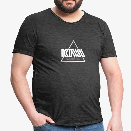 KIWA Satisfiction Logo - Men's Vintage T-Shirt