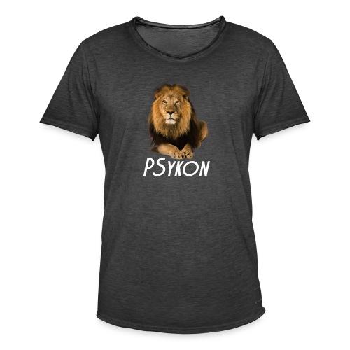 Лев - Männer Vintage T-Shirt